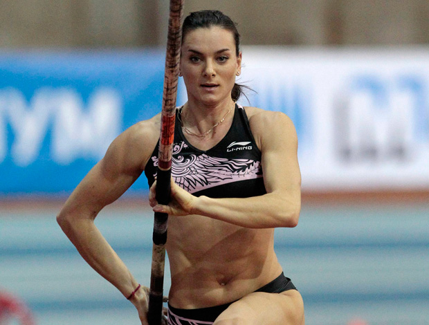 Yelena Isinbayeva moscou salto com vara atletismo (Foto: Agência Reuters)
