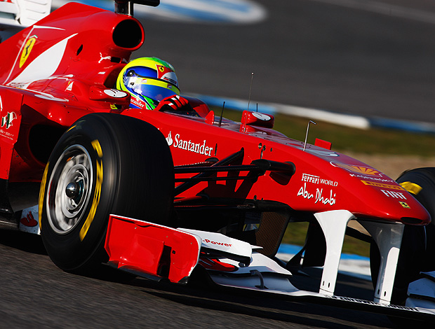 testes felipe massa (Foto: Getty Images)