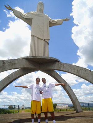 Luis Otavio e Gerson (Foto: Danielle Rocha / Globoesporte.com)