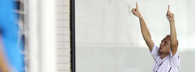 Zé Eduardo gol Santos (Foto: Ag. Estado)
