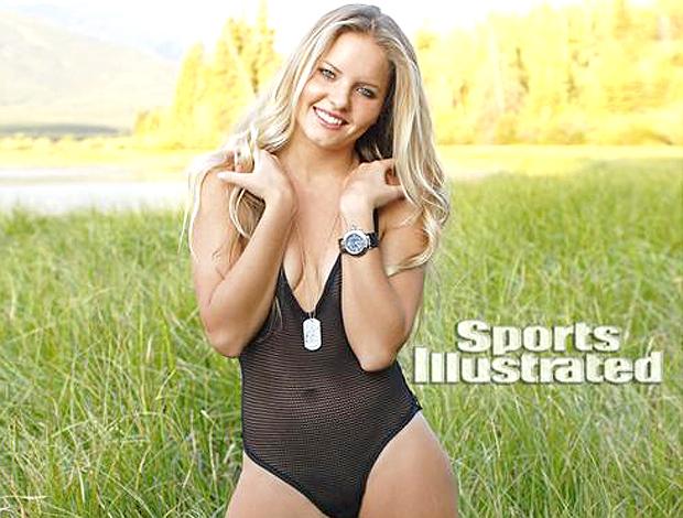 Bruna Schmitz calendário Sports Illustrated  (Foto: Divulgação)