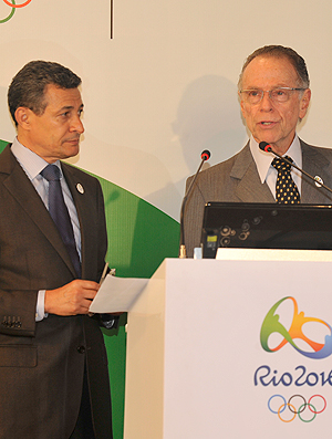 Carlos Nuzman Agberto Guimaraes (Foto: Marcos Rezende)