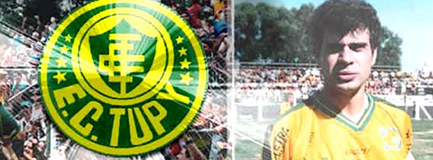 header site Tupi Túlio Maravilha (Foto: Reprodução / Site Oficial)