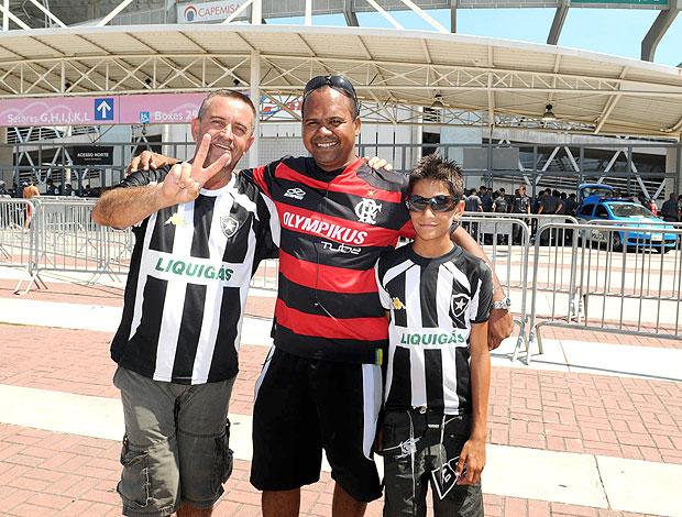 flamengo x botafogo torcedores (Foto: André Durão/Globoesporte.com)