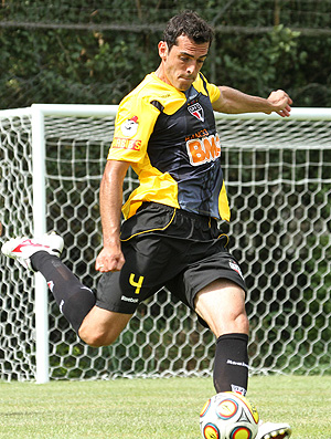 Rhodolfo no treino do São Paulo (Foto: Washington Alves / VIPCOMM)