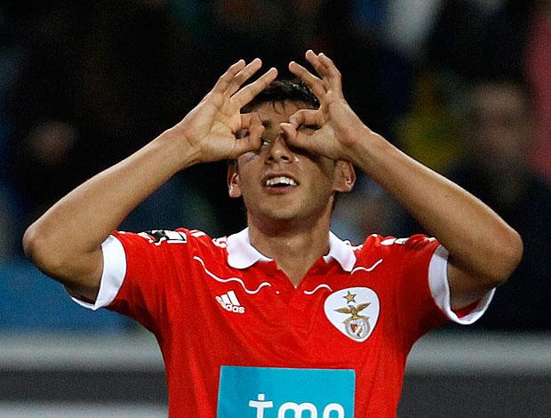 salvio benfica x  Sporting (Foto: Reuters)