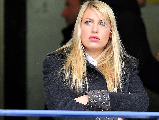 Barbara Berlusconi, filha do presidente do Milan (Foto: Getty Images)