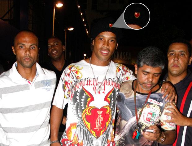 Boina Ronaldinho (Foto: AGNews)