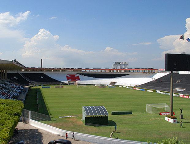 Nova pintura do estádio São Januário (Foto: Divulgação / Marcelo Sadio)