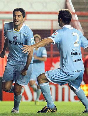Santiago Salcedo gol Argentinos Juniors (Foto: Reuters)