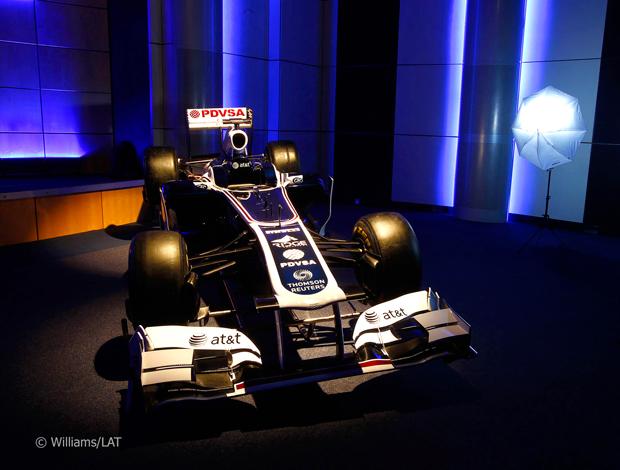 Williams carro novo (Foto: Divulgação/Site Oficial)