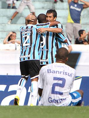 Borges gol Grêmio (Foto: Ag. Estado)