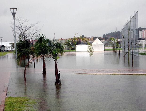 chuva Ct Joaquim Grava (Foto: Ag. Estado)