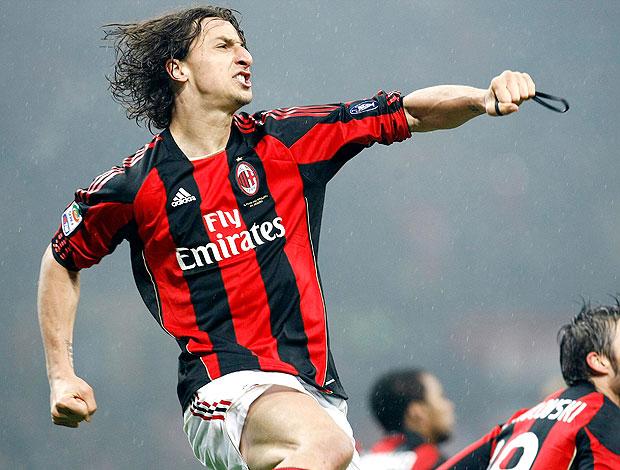 Ibrahimovic gol Milan (Foto: Reuters)