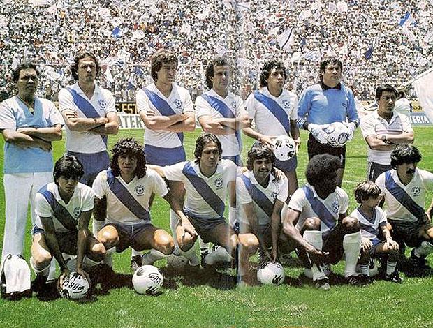Muricy Puebla Campeão (Foto: Puebla80s.blogspot.com)