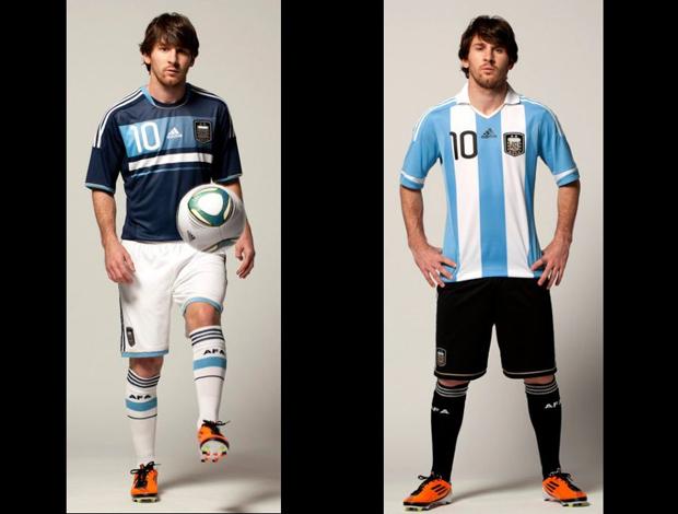 messi camisa argentina (Foto: Divulgação)
