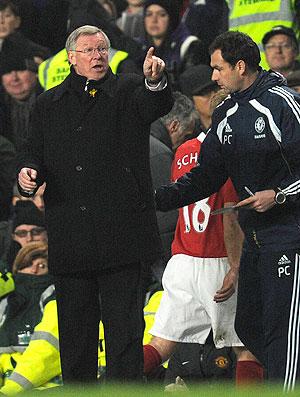 Alex Ferguson chelsea x manchester united (Foto: AP)
