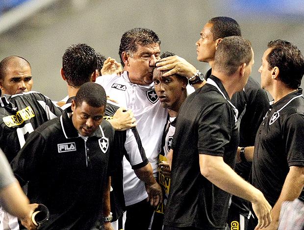 Joel Santana comemoração Botafogo (Foto: Ag. Estado)