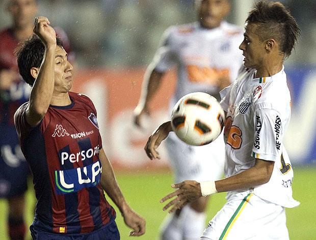 Luan Piris Cerro Portenho Neymar Santos (Foto: EFE)