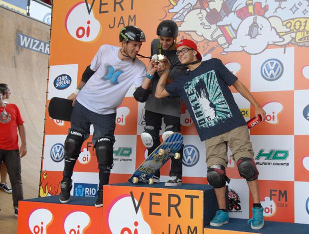 Pódio Mundial de Skate Vertical (Foto: Vanessa Laje / Divulgação)