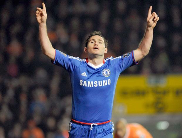 Comemoração Chelsea Frank Lampard (Foto: Reuters)