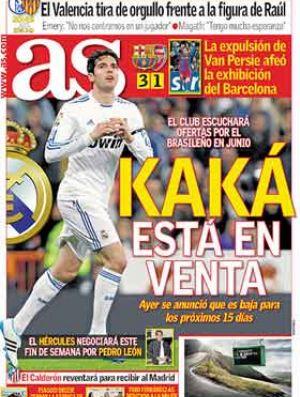 Capa do As com Kaká (Foto: Reprodução)
