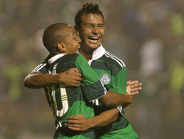 Patrik gol Palmeiras (Foto: Ag. Estado)