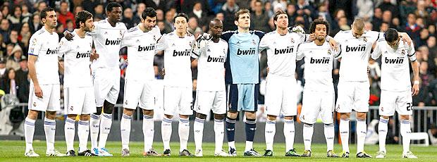 Real Madrid 1 minuto de silêncio (Foto: EFE)