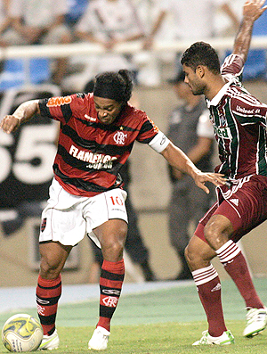 Ronaldinho Gaúcho Flamengo x Fluminense (Foto: Nina Lima / VIPCOMM)