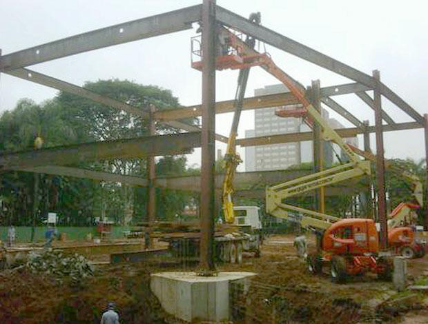 Obras na Arena (Foto: Divulgação)