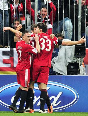 Comemoração Bayern de Munique x Inter de Milão (Foto: Getty Images)