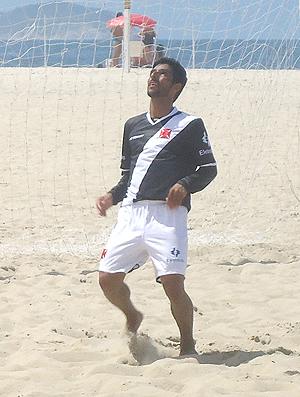 vasco futebol de areia jorginho (Foto: Lucas Loos/Globoesporte.com)