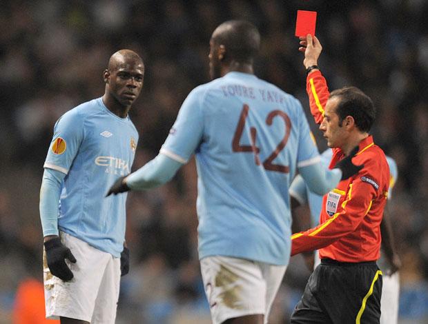 Manchester City's Mario Balotelli (Foto: AFP)