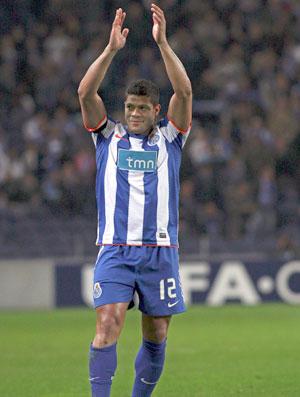 Comemoração Porto Hulk (Foto: EFE)