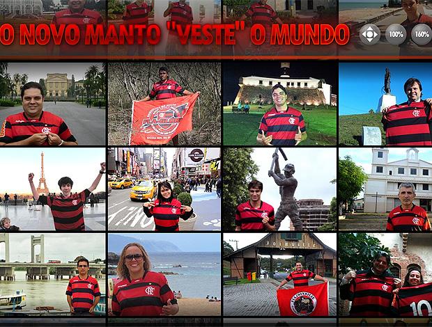 novo site Flamengo torcedores (Foto: Reprodução / Site Oficial)