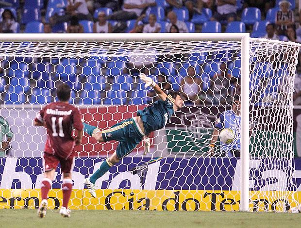 ricardo berna fluminense x boavista gol (Foto: Jorge William/Globo)