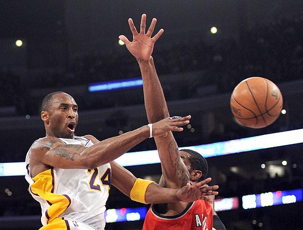 Portland Trail Blazers x Los Angeles Lakers kobe bryant (Foto: Getty Images)