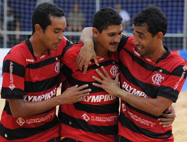 Flamengo Futebol de areia (Foto: João Pires / Divulgação)