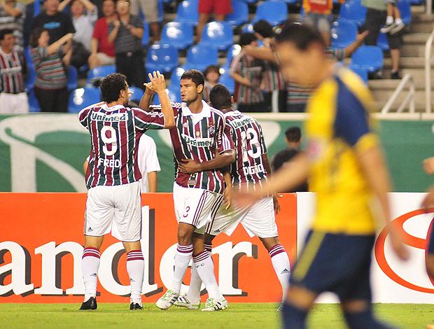 gum fluminense gol américa-mex (Foto: Wallace Teixeira / Photocamera)