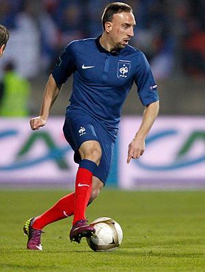 Luxemburgo x França ribery (Foto: Agência Reuters)