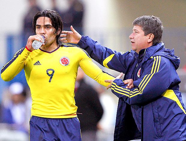 Falcao García Hernán Dario Gómez Colômbia (Foto: EFE)