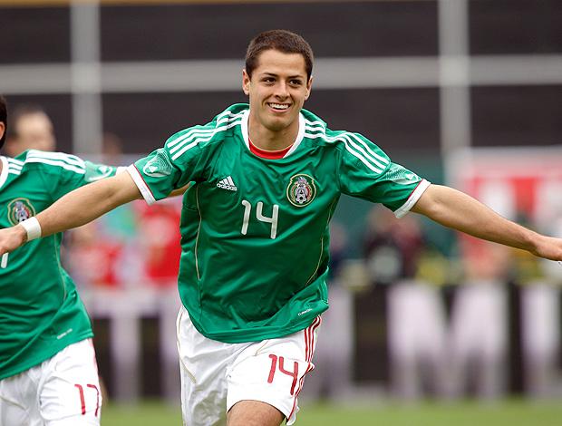 Javier Hernandez gol México (Foto: AP)