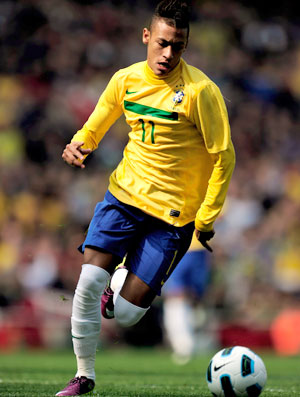 Neymar Brasil x Escócia (Foto: Getty Images)