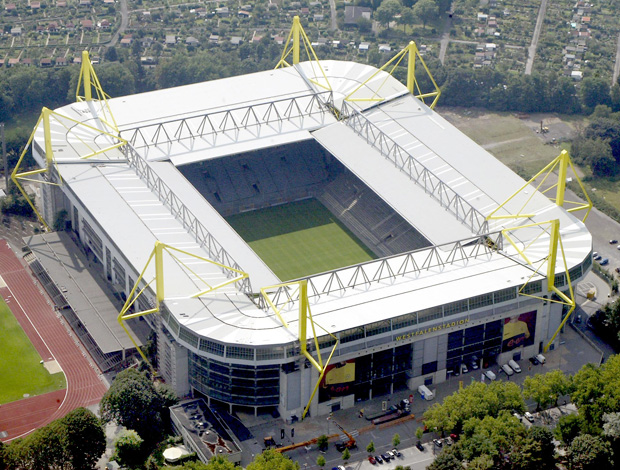 Estádio do Borussia (Foto: AP)