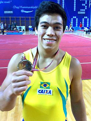 Sergio Sasaki Ginástica Olímpica (Foto: Divulgação)