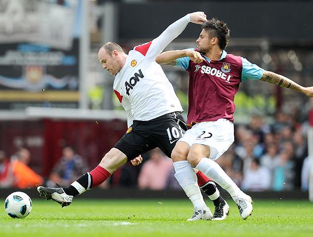 Rooney Manchester Manuel Da Costa West Ham (Foto: Getty Images)