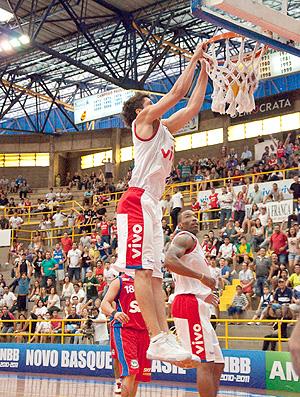 Basquete Franca x Pinheiros (Foto: Levi Fanan / Divulgação)