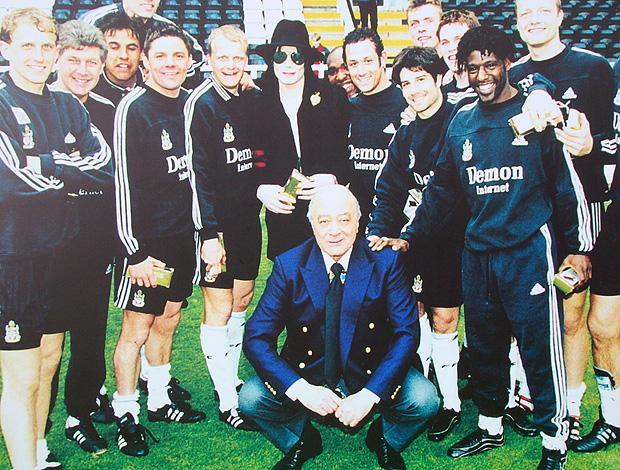 Fulham estátua Michael Jackson (Foto: Felipe Rocha / Globoesporte.com)