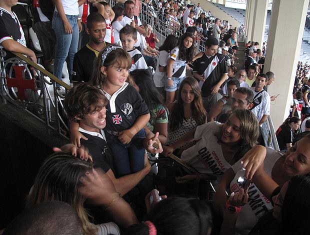 mau mau vasco x bangu (Foto: Rafael Cavalieri/Globoesporte.com)