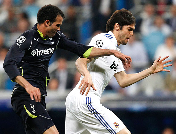 Kaká na partida do Real Madrid contra o Tottenham (Foto: Reuters)